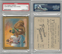 T57 Turkish Trophies, Fable Series, 1910, Jupiter And The Camel, PSA 5 EX
