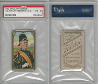 T80 Tolstoi, Military, 1911, Adjutant General, USA, PSA 4 VGEX