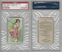 T410 American Tobacco, Illustrated Songs, 1910, You Won't Need, PSA 1.5