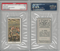 B84-4 Boguslavsky, Sports Records,  1925, #33 Boxing, Carpentier, PSA 5 EX