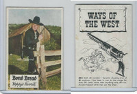 D89-B Bond Bread, Hopalong Cassidy - Ways Of West, 1950, Colt 45