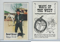D89-B Bond Bread, Hopalong Cassidy - Ways Of West, 1950, Lariat