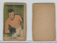 W Card, Strip Card, Boxing, 1920's, #5 Floyd Johnson