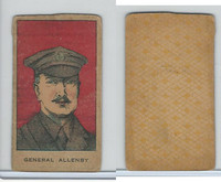 W Card, Strip Card, History, 1920's, General Allenby