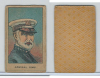 W Card, Strip Card, History, 1920's, Admiral Sims