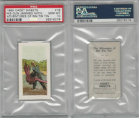 C0-0 Cadet Sweets, Adventures Rin Tin Tin, 1960, #18, PSA 10 Gem