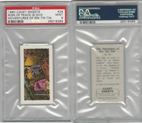C0-0 Cadet Sweets, Adventures Rin Tin Tin, 1960, #29, PSA 9 Mint
