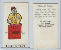 D64 Bakeries, Pinocchio Circus, 1939, Ticket Office