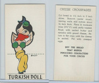 D64 Bakeries, Pinocchio Circus, 1939, Turkish Doll