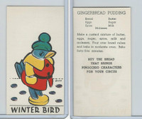 D64 Bakeries, Pinocchio Circus, 1939, Winter Bird