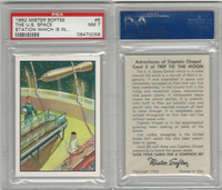 F71 Mister Softee, Adventures Of Captain Chapel, 1962, #5, PSA 7 NM