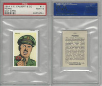 C0-0 Calvert, Dan Dare Space, 1954, #11 Pierre, PSA 9 Mint