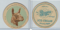 F1 Dixie Cup, Circus Series, 1930, #12 Ossy The Llama (Type C)