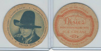 F5-4 Dixie Cup, 1938, Movie Stars, William Boyd, Hopalong Cassidy Bar 20