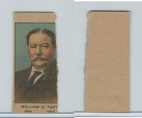 W563 Strip Card, Presidents, 1920's, William Taft