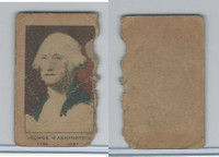 W563 Strip Card, Presidents, 1920's, George Washington