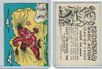 W510-2 Abbey, Monster Magic Action Trading Cards, 1963, (10)