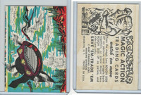 W510-2 Abbey, Monster Magic Action Trading Cards, 1963, (13)