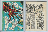 W510-2 Abbey, Monster Magic Action Trading Cards, 1963, (15)