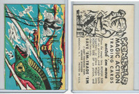 W510-2 Abbey, Monster Magic Action Trading Cards, 1963, (17)