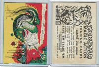 W510-2 Abbey, Monster Magic Action Trading Cards, 1963, (18)