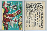W510-2 Abbey, Monster Magic Action Trading Cards, 1963, (20)