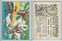 W510-2 Abbey, Monster Magic Action Trading Cards, 1963, (23)