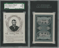 PL 1913 Fireside Game Co, White House, #16B Ulysses Grant, SGC 92 NMMT+