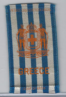 S14 American Tobacco Silk, National Arms, 1910, Greece