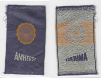 S25 American Tobacco Silk, College Seal, 1910, Amherst