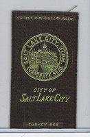 S90 American Tobacco Silk, City Seals, 1910, Salt Lake City, Utah