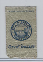 S90 American Tobacco Silk, City Seals, 1910, Spokane, Washington