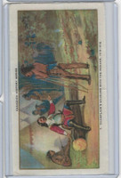 SC11 ATC Silk, Canada History, 1910, #7 Champlain's Sojourn With Indians