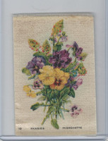 SC7 Imperial Tobacco, Garden Flowers, 1910, #19 Pansies, Mignonette