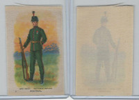 SC10 BAT Silk, Regimental Uniforms Canada, 1910, #1 Victoria Rifles, Montreal