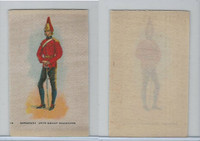 SC10 BAT Silk, Regimental Uniforms Canada, 1910, #13 Brant Dragoons