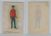 SC10 BAT Silk, Regimental Uniforms Canada, 1910, #22 84th St. Hyacinthe