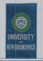 SC12 Canada Silk, Colleges & Universities, 1910, New Brunswick (Blue)