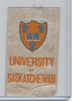 SC12 Canada Silk, Colleges & Universities, 1910, Saskatchewan (Silver)
