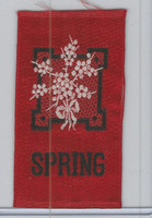 SC12 Canada Silk, Miscellaneous, 1910, Spring (Red)