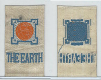 SC12 Canada Silk, Miscellaneous, 1910, The Earth (Silver)