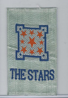 SC12 Canada Silk, Miscellaneous, 1910, The Stars (Blue)