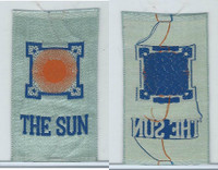 SC12 Canada Silk, Miscellaneous, 1910, The Sun (Blue)