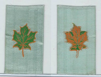 SC12 Canada Silk, Miscellaneous, 1910, Maple Leaf (Blue)