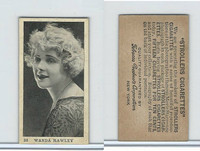 T85-1 Tobacco Products Corp, Movie Stars, 1922, #33 Wanda Hawley