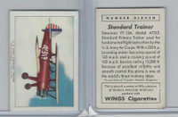 T87 Wings Cigarettes, Series (No Letter Series), 1941,#11 US Army Trainer