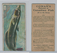 V10 Cowan, Pictures Canadian Fish, 1924, Ling