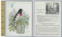 H684 Singer Sewing, American Song Birds, 1926, Rose-Breasted Grosbeak
