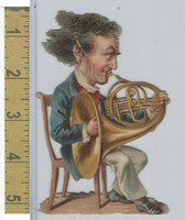 Victorian Diecuts, 1890's, Culture & People, (32) Musician
