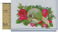 Victorian Diecuts, 1890's, Dogs, (22) Loves Offering, Roses